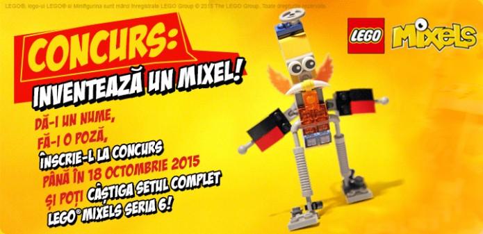 Concurs Clever Toys: Inventeaza un Mixel