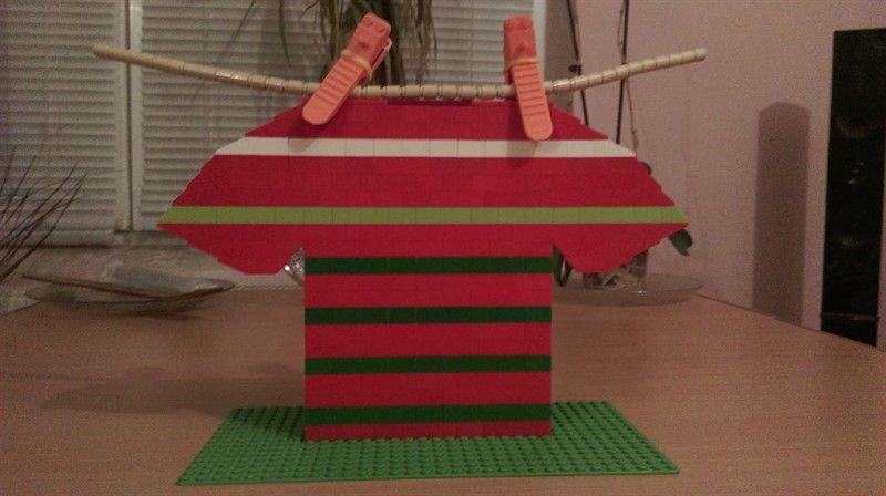 Concurs Imbinarea separatorului de caramizi – creatia 16: Tricou la uscat