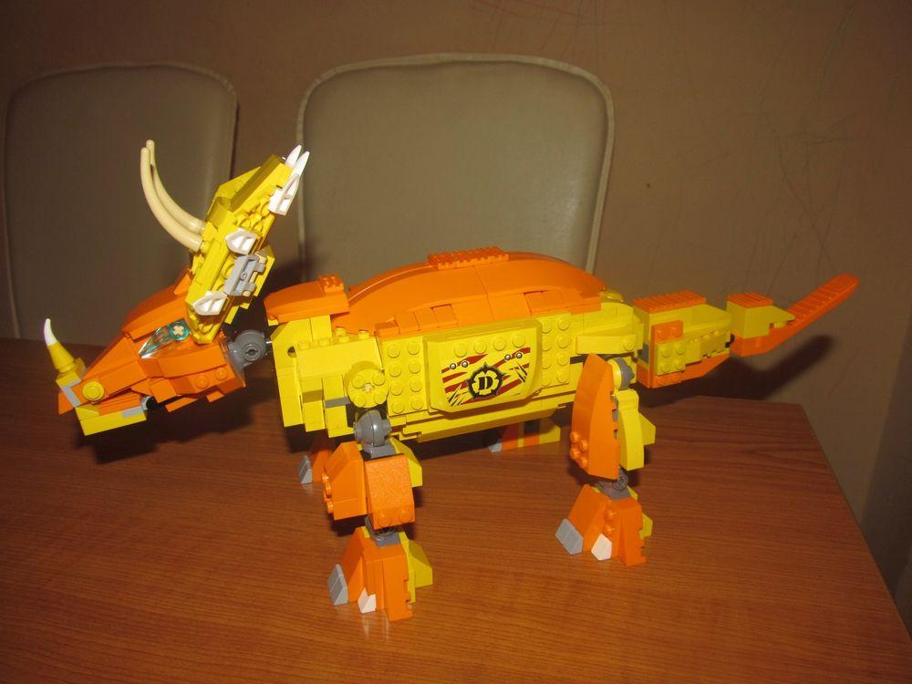 Concurs Imbinarea separatorului de caramizi – creatia 17: Triceratops