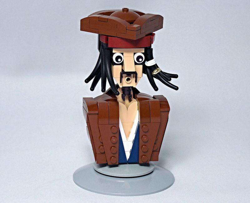 Jack Sparrow Bust