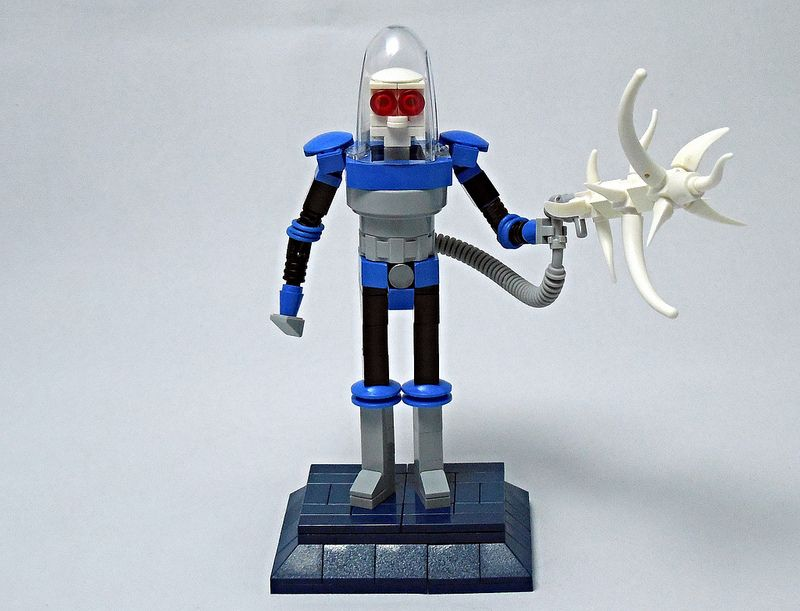 LEGO® MOC by Vitreolum: Miniland Mr. Freeze