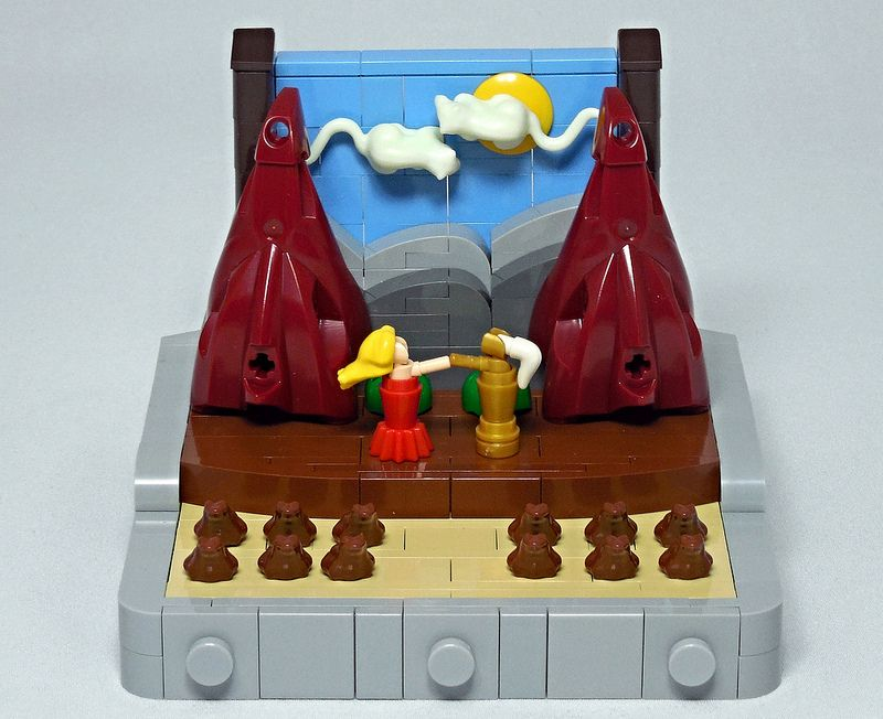 LEGO® MOC by Vitreolum: The Princess and the Knight – A Play