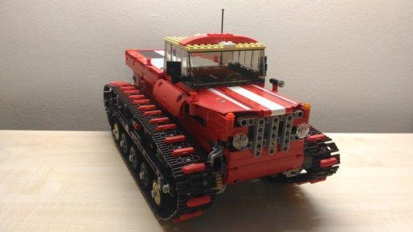 Concurs Trial Truck Februarie 2016: Creatia 8 – SAR Snowcat