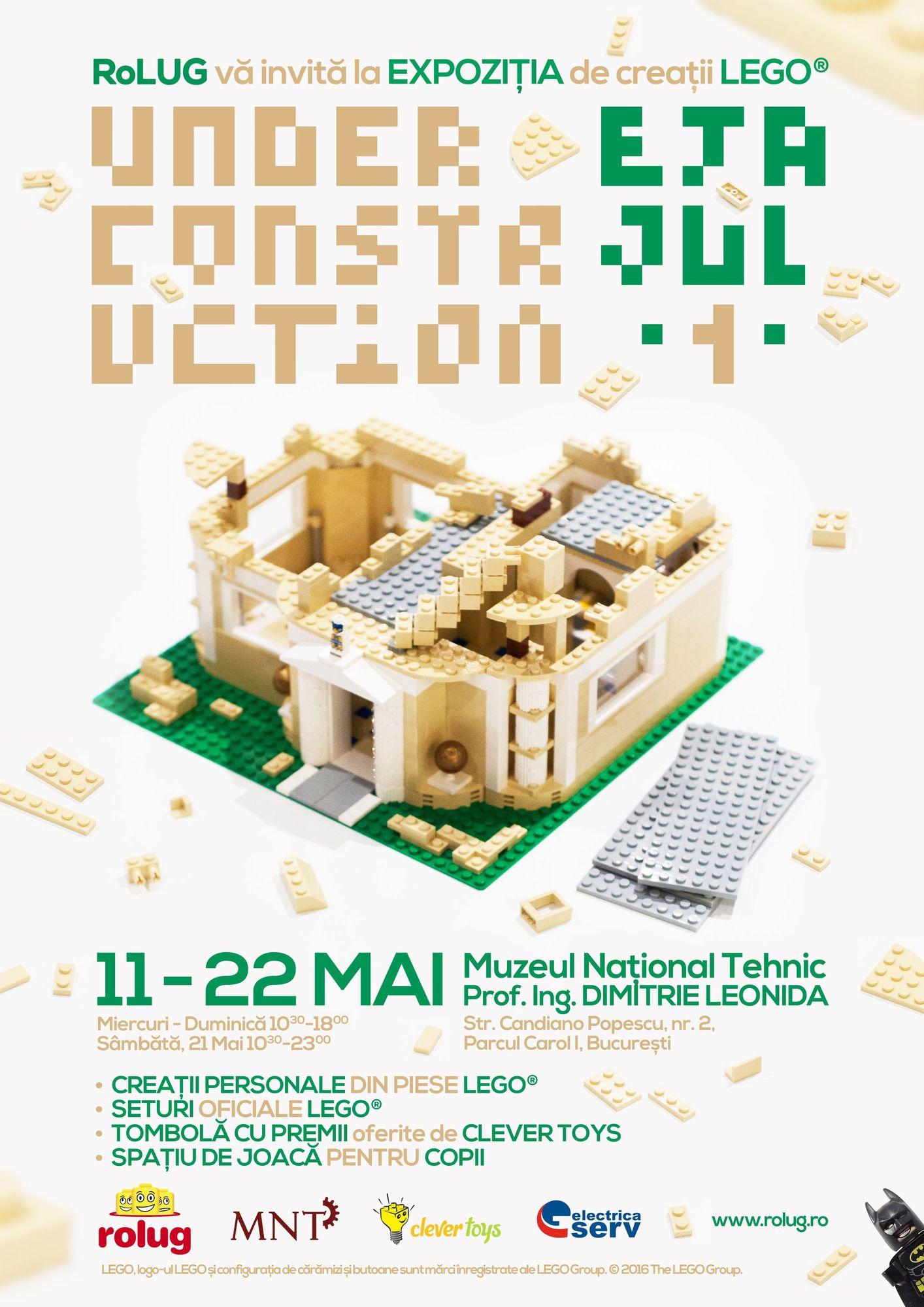 Expozitie RoLUG: Under Construction – Etajul 1