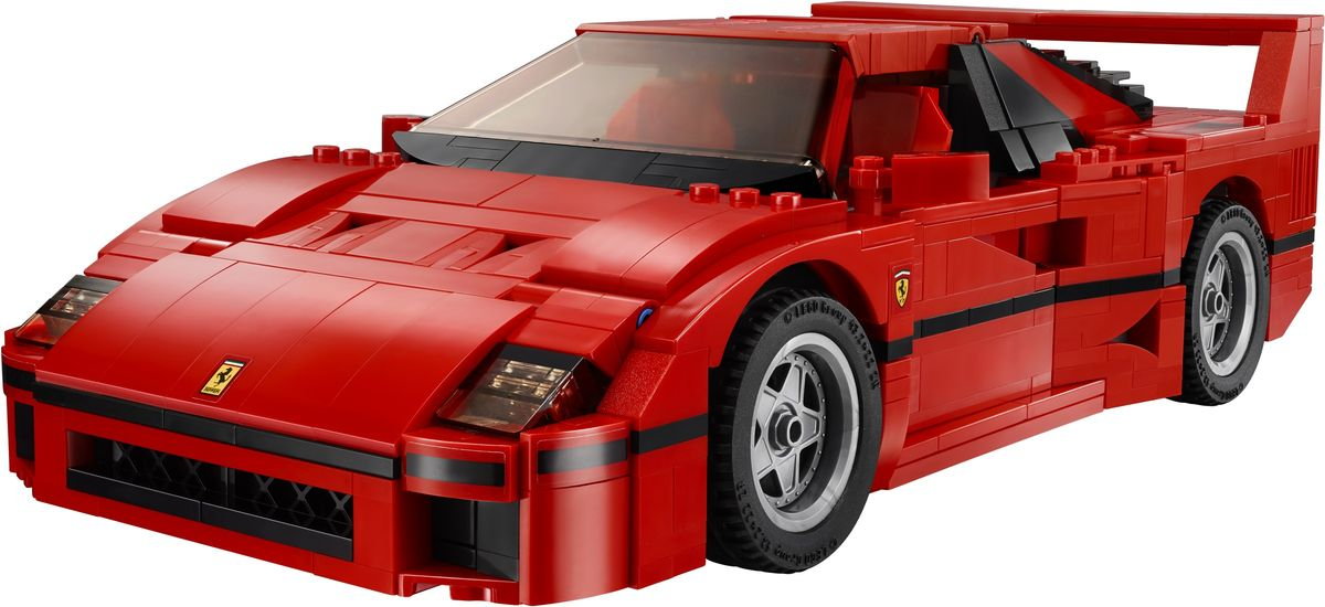 Review set LEGO 10248 – Ferrari F40