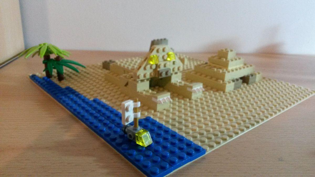Concurs Microscale City: Creatia 8 – Sfinxul si Piramidele Egiptene