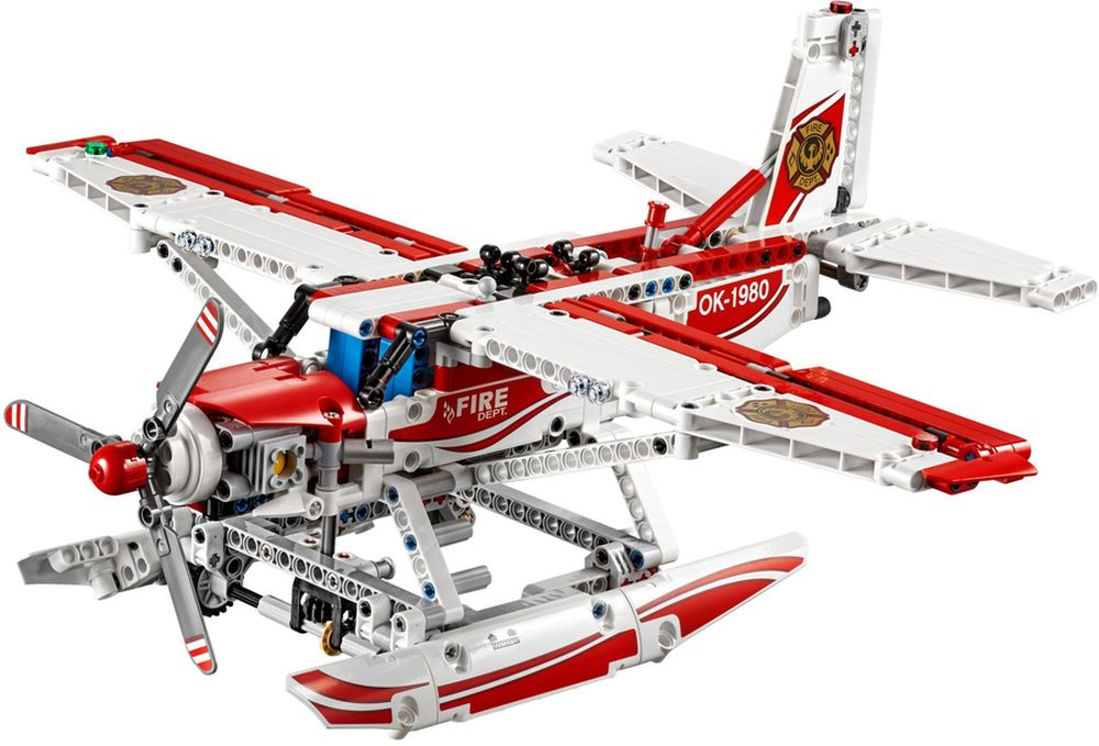 Review set LEGO 42040 – Fire Plane