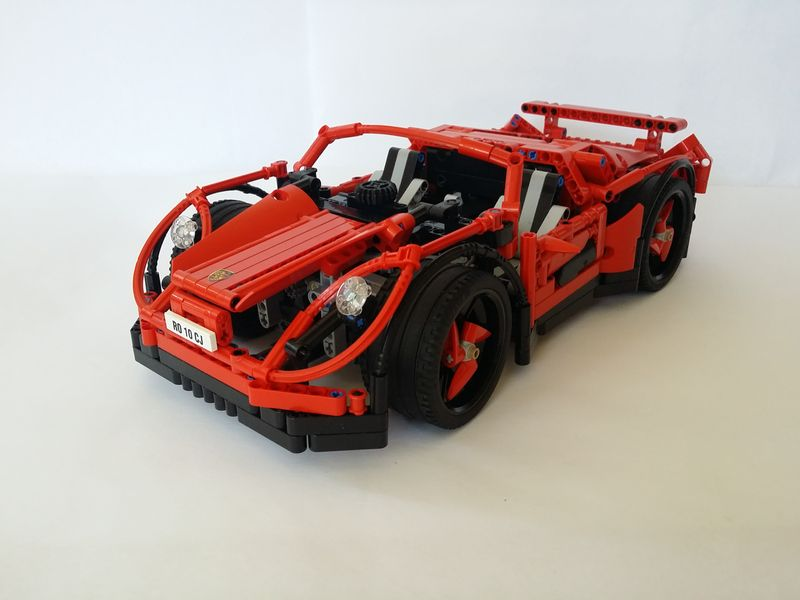 LEGO® MOC by ALEX ILEA: Porsche 1000 Concept Car