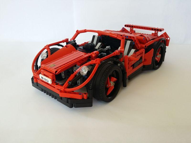 LEGO® MOC by ALEX ILEA: Porsche 1000 Concept Car