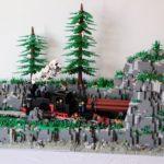 LEGO® MOC by Badgogo: Mocanita de pe Valea Vaser – Maramures