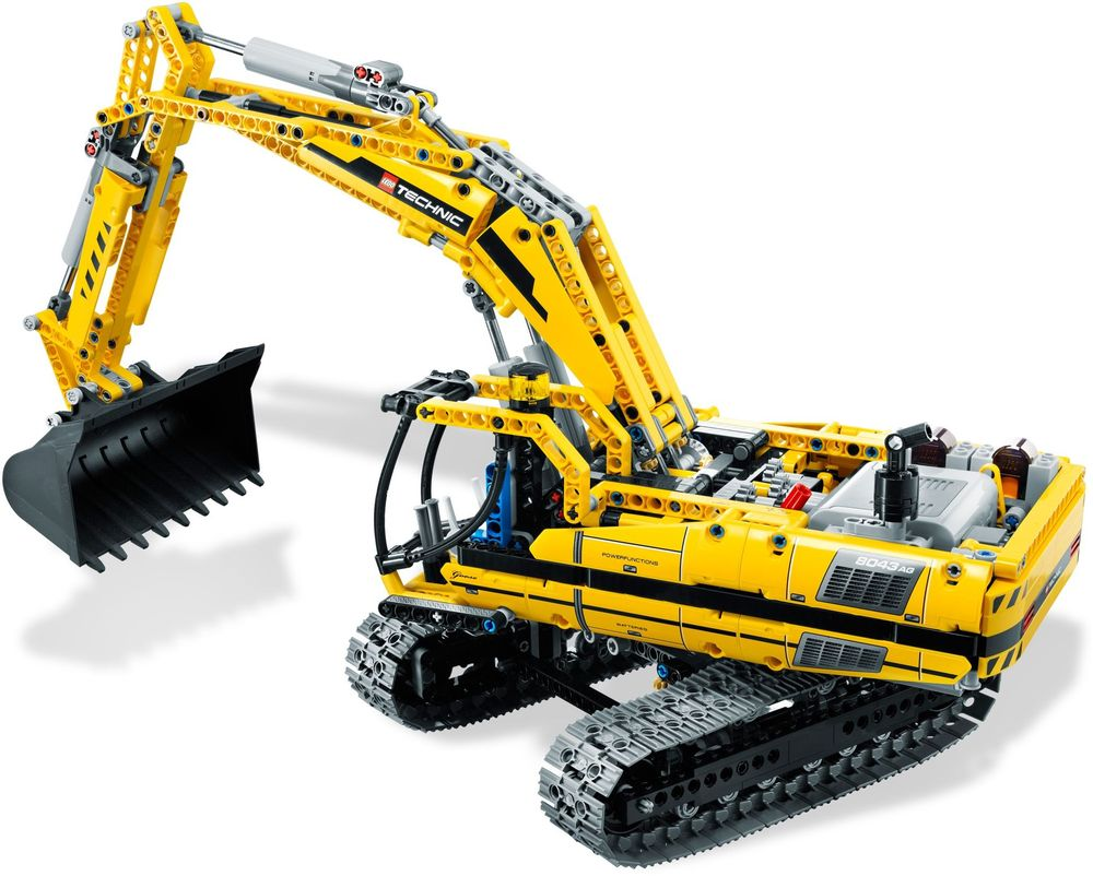 Review set LEGO 8043 – Motorized Excavator