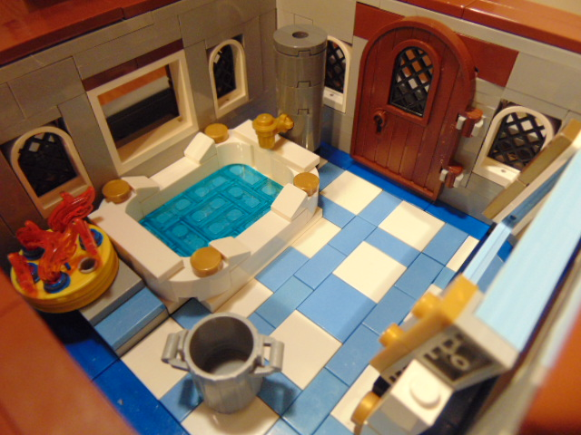 LEGO® MOC by Chyck: Castelul Phoenix – Sala de baie