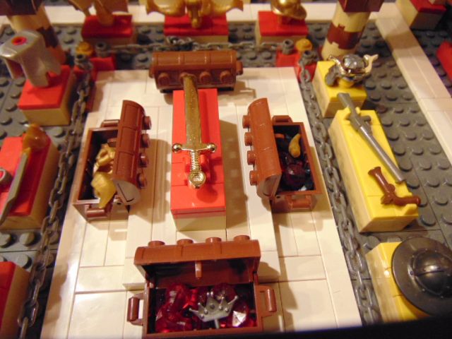 LEGO® MOC by Chyck: Castelul Phoenix – Sala armelor