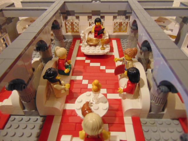 Castelul Phoenix – Salonul