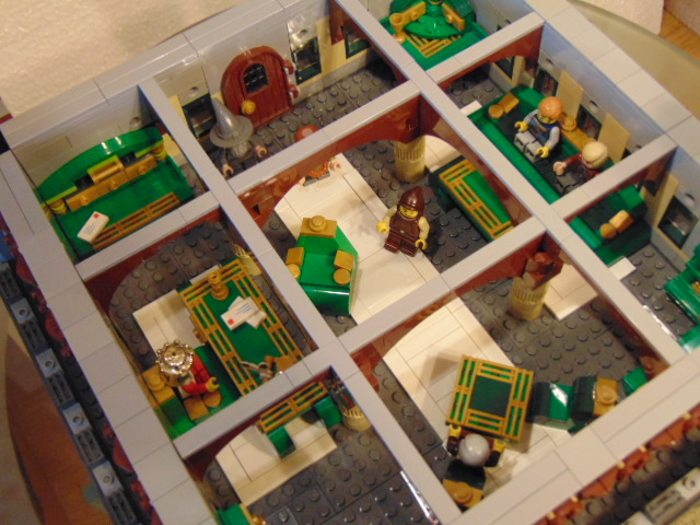 LEGO® MOC by Chyck: Castelul Phoenix – Cabinetul regelui