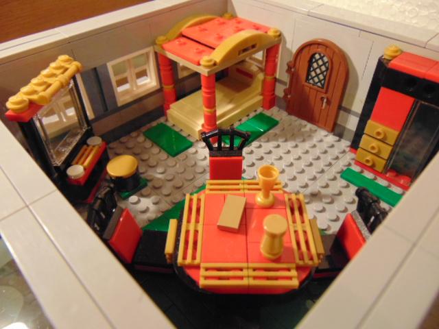 LEGO® MOC by Chyck: Castelul Phoenix – Dormitorul regelui