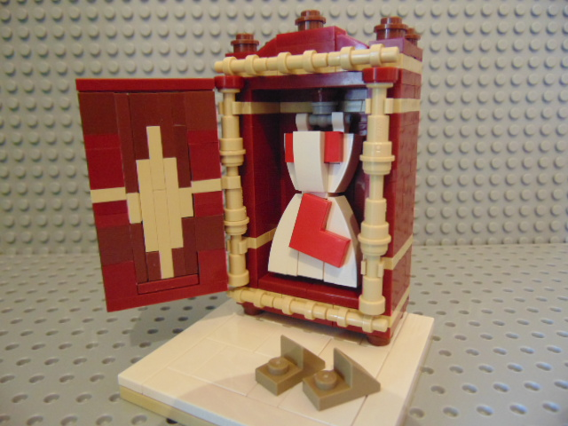 LEGO® MOC by Chyck: Un dulap de haine mai mititel