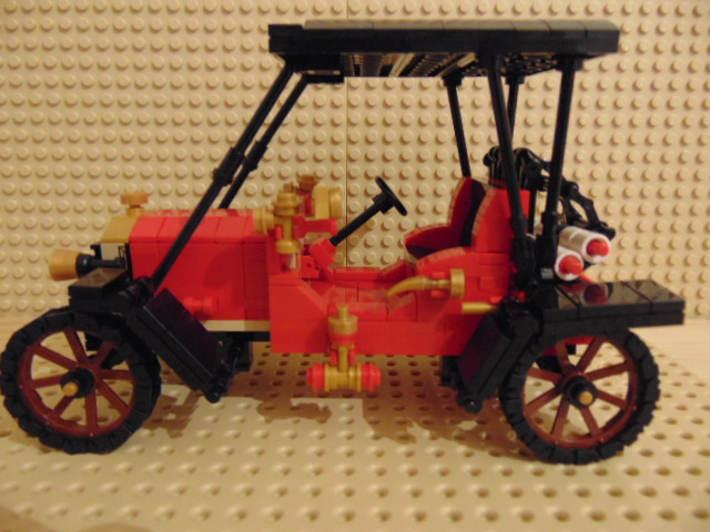 LEGO® MOC by Chyck: Ford t BJ 1909 fire truck