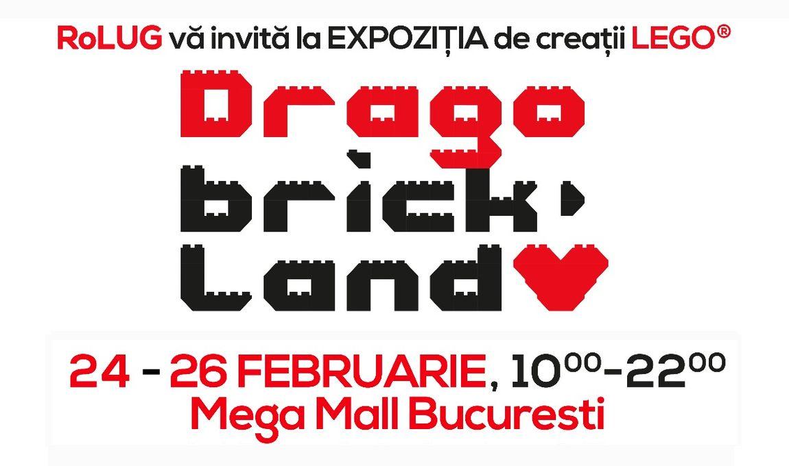 Expozitie RoLUG: DRAGObrickland