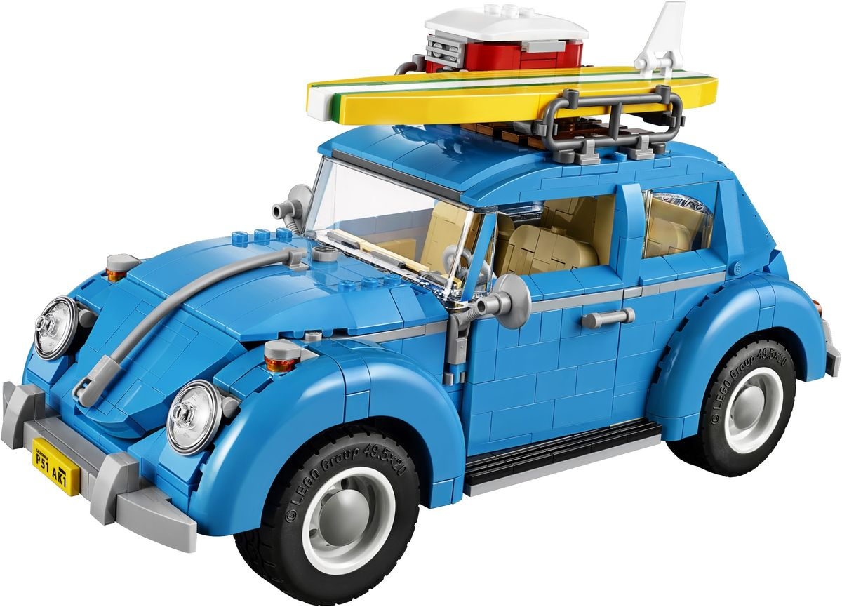 Review set LEGO 10252 – Volkswagen Beetle