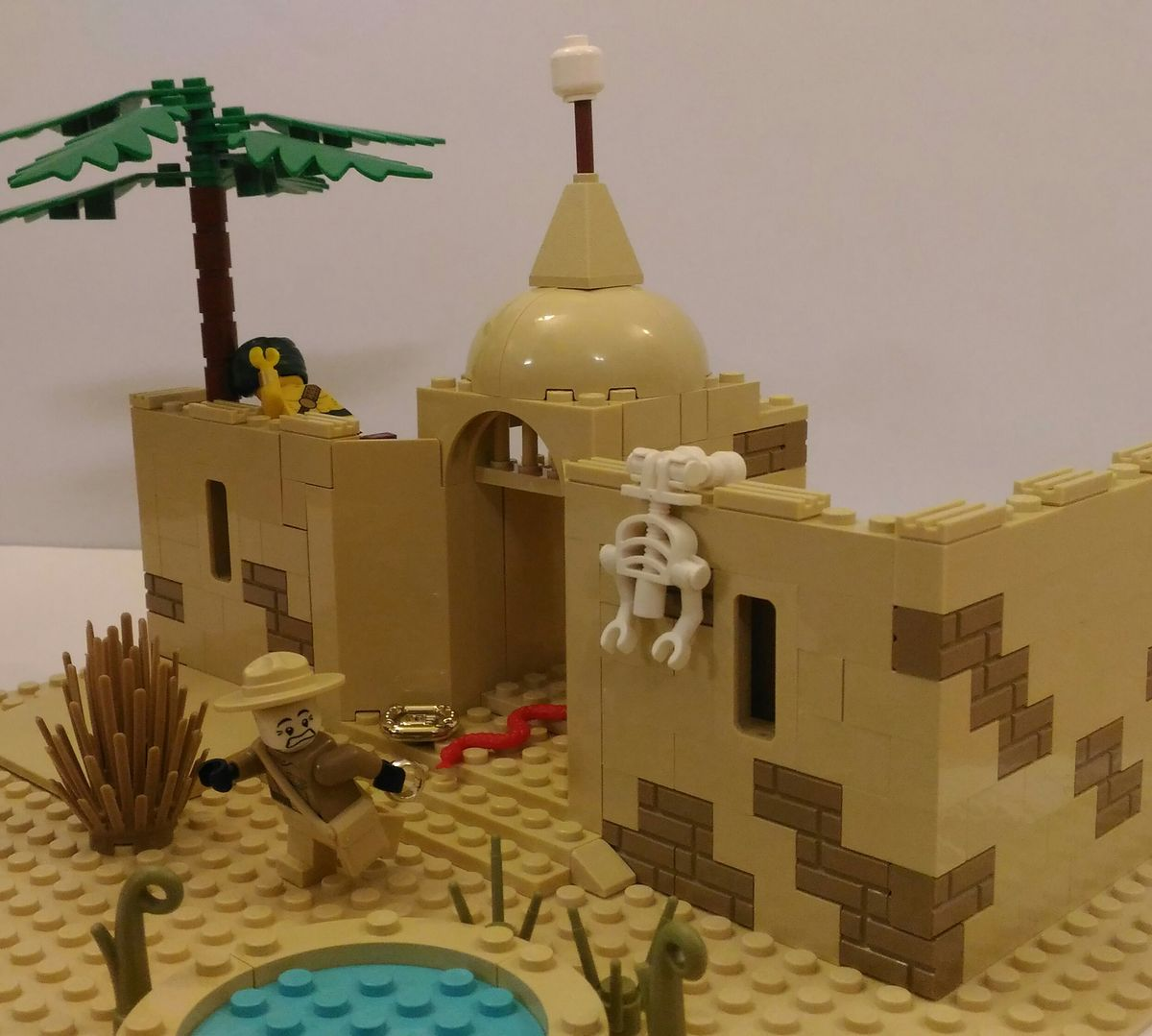 MOC-uiala fara fir – Firul 1 – Creatia 3: Ofiofobie