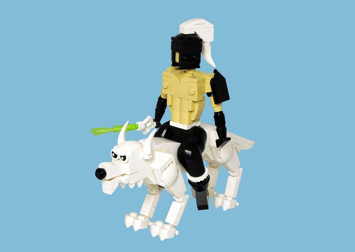 MOC-uiala fara fir – Firul A – Creatia 2: Figurina