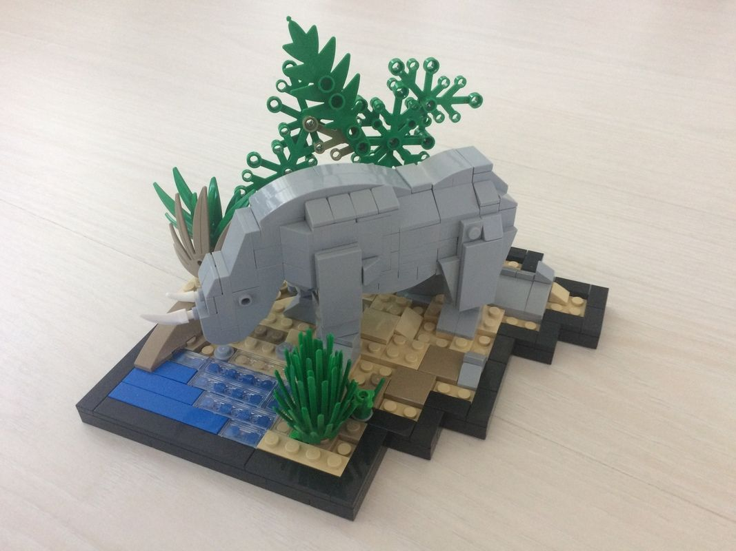 MOC-uiala fara fir – Firul A – Creatia 3: Animal