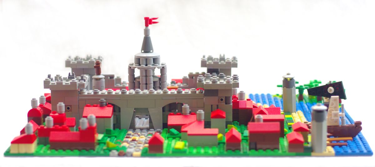 Concurs Microscale Old City – Creatia 5: Castel medieval