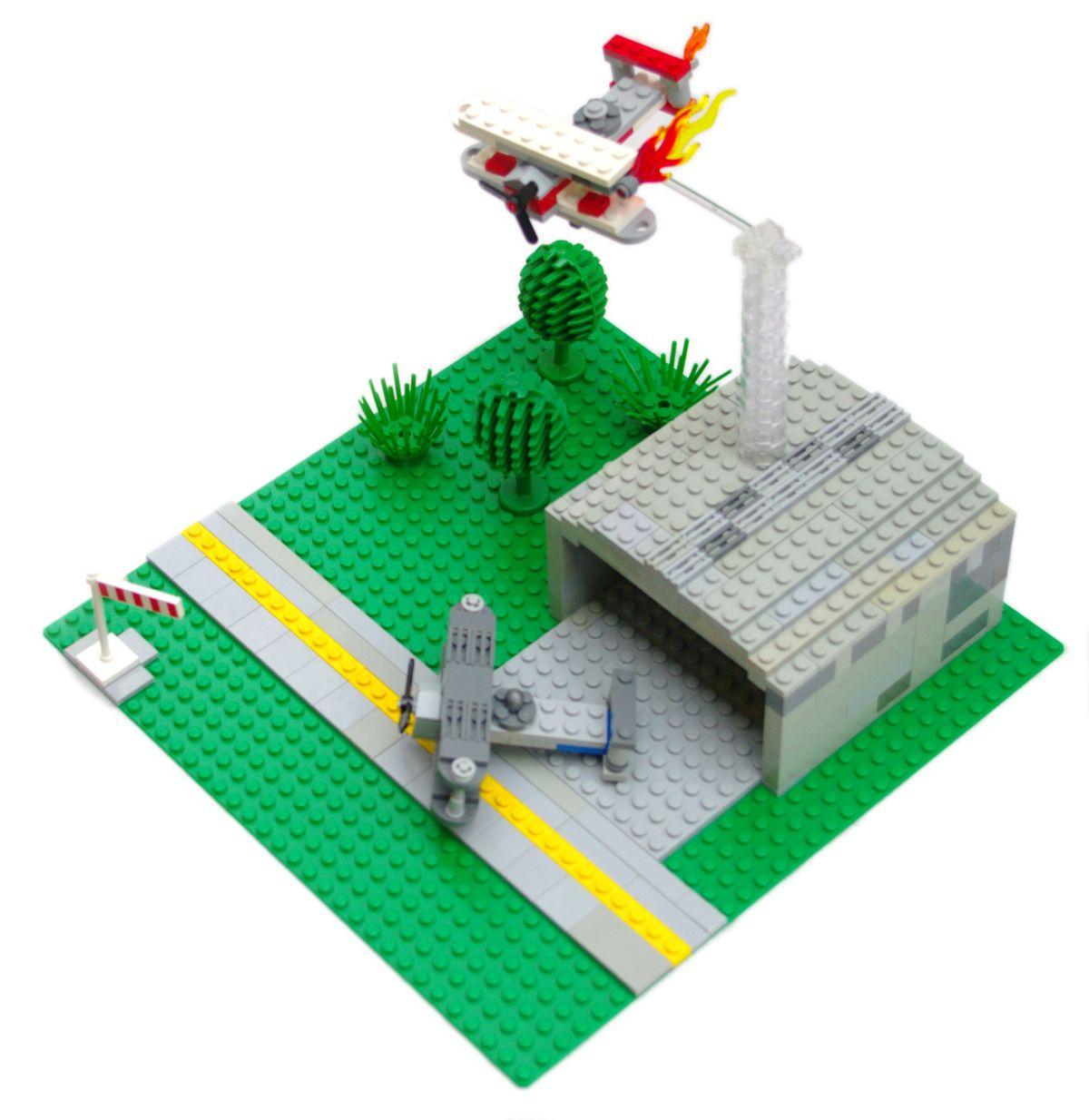 Concurs Microscale Old City – Creatia 7: Baza aeriana cu biplane