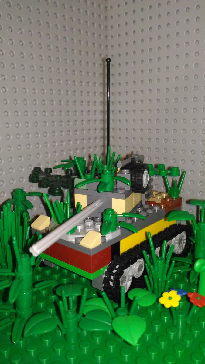 MOC-uiala fara fir – Firul B – Creatia 5: Camuflaj