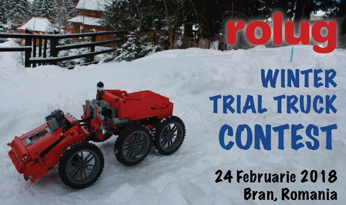Concurs RoLUG Winter Trial Truck 2018
