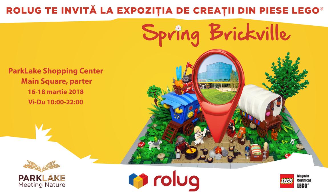 Expozitie RoLUG: Spring Brickville